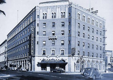 Sainte Claire Hotel in San Jose, CA